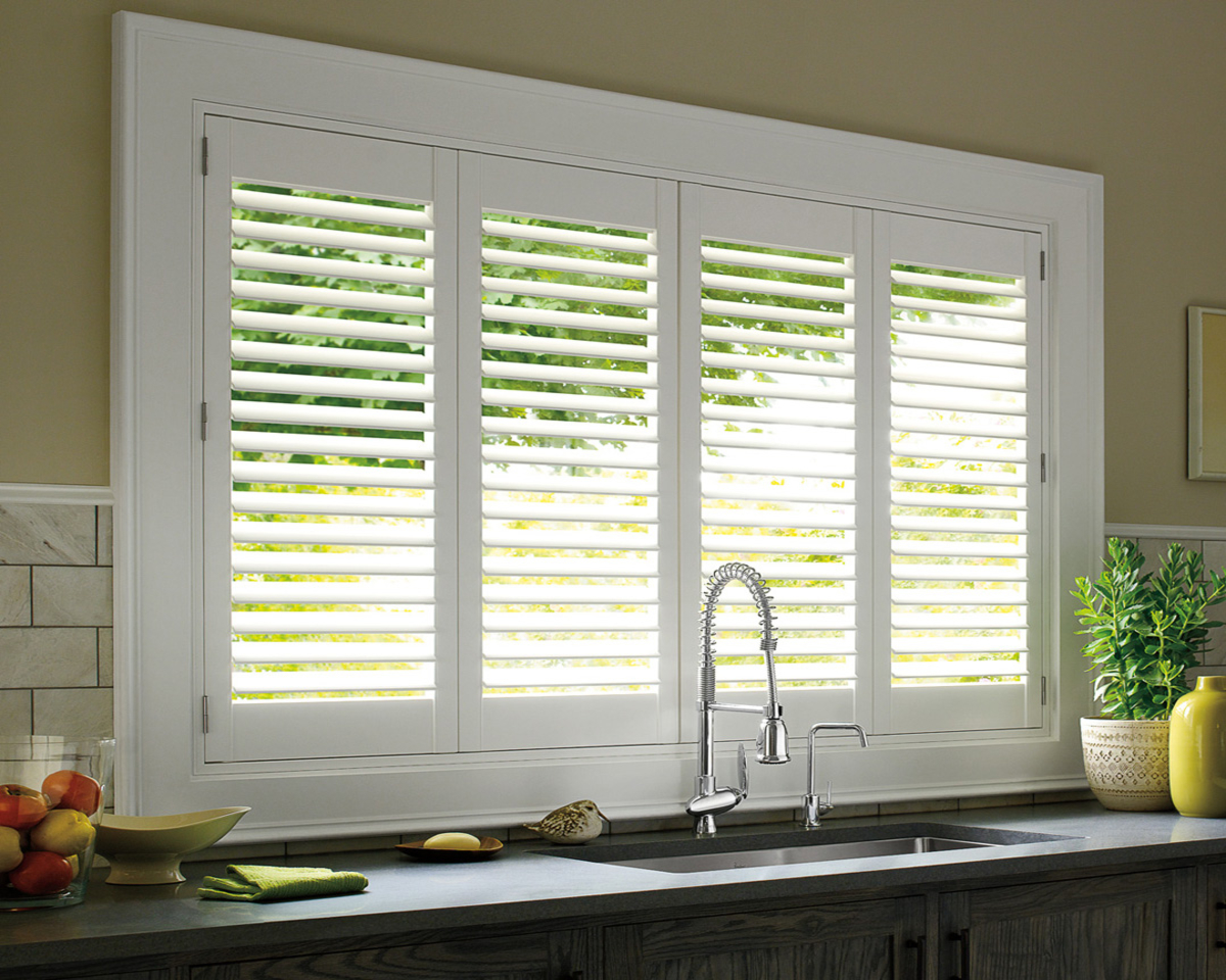 White Plantation Shutter by Hunter Douglas