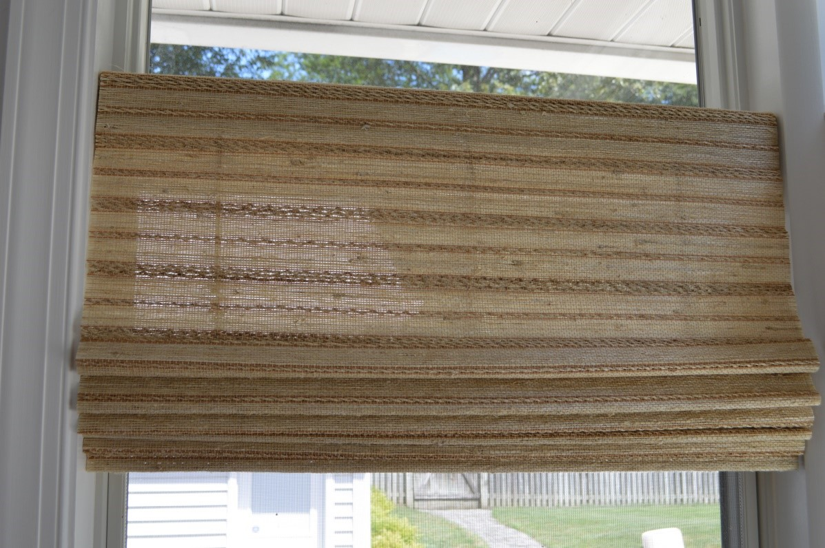 If You Want Your Kitchen Windows To Stand Out, But Your Style Is More  Eclectic, Try Woven Wood Shades. Like Printed Roman Shades, Woven Wood  Shades Give ...